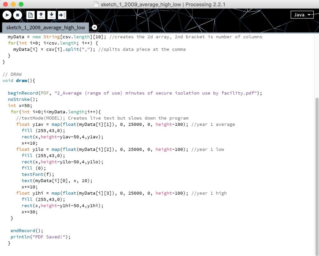 Processing Script